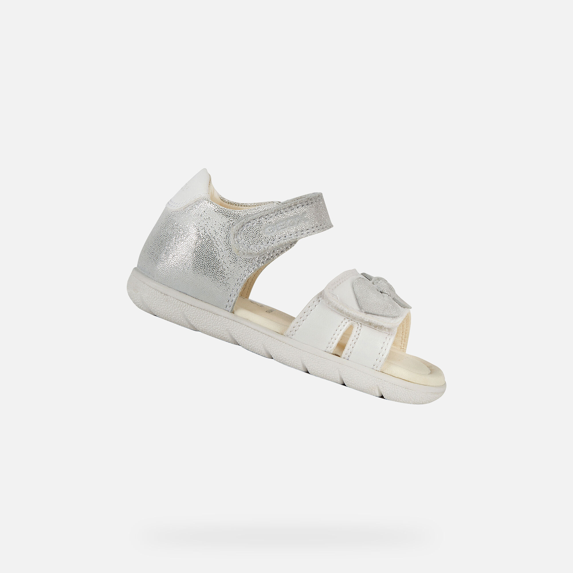 Geox ALUL Baby Girl: White Sandals
