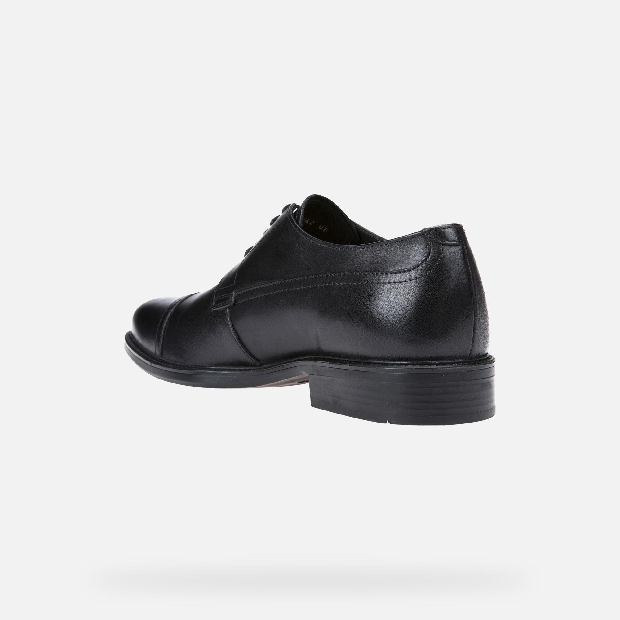 Geox CARNABY Scarpe Eleganti Nere Uomo   Geox® Online store