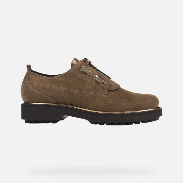 LACE UPS AND BROGUES WOMAN GEOX ASHEELY PLUS WOMAN - 2