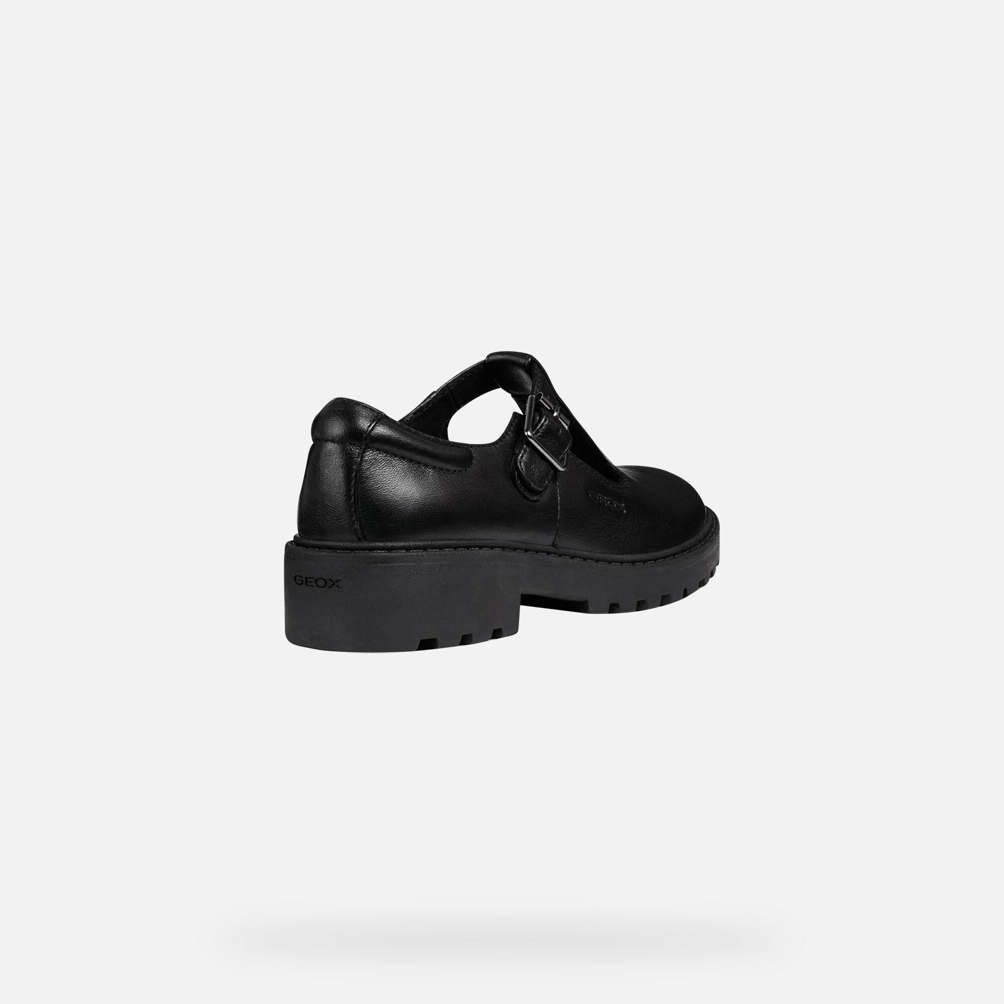 Fille Chaussures Jr Geox De Uniforme Casey ITq8Z
