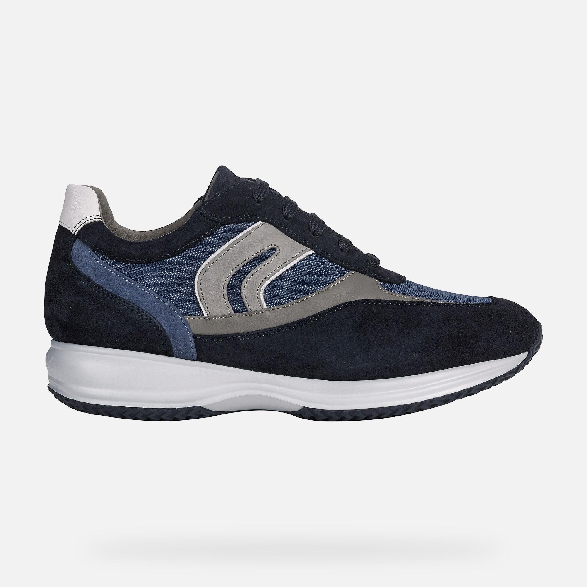 Geox U Happy Sneakers Uomo Navy