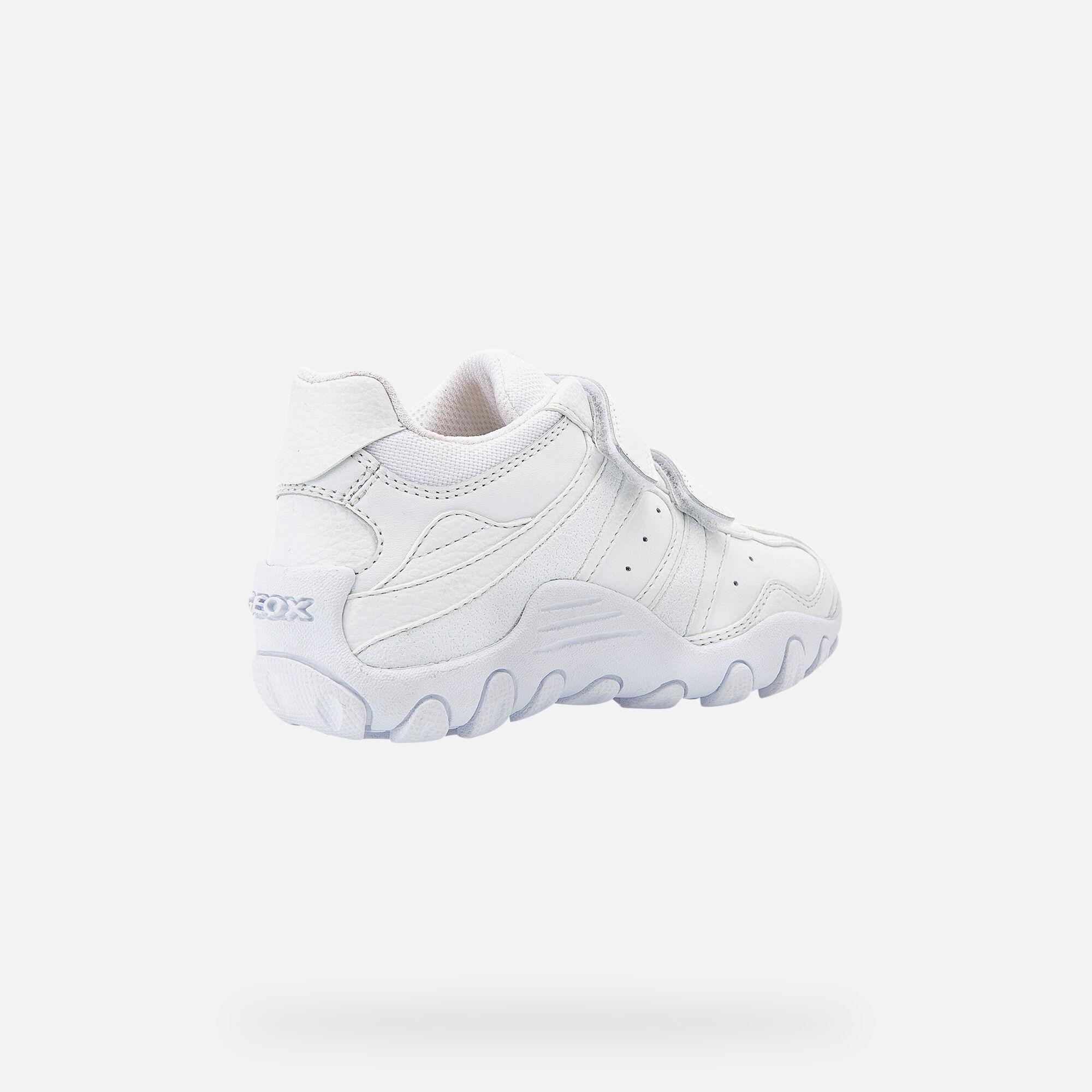 Geox CRUSH Bambino: Sneakers Bianche | Geox SS20