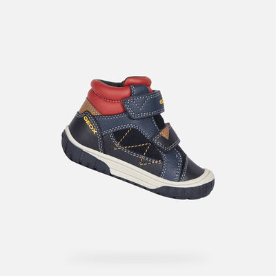 HIGH TOP BABY GEOX OMAR BABY BOY