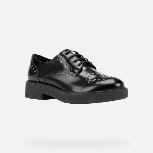 WOMAN LACE UPS AND BROGUES GEOX ADRYA WOMAN - 3