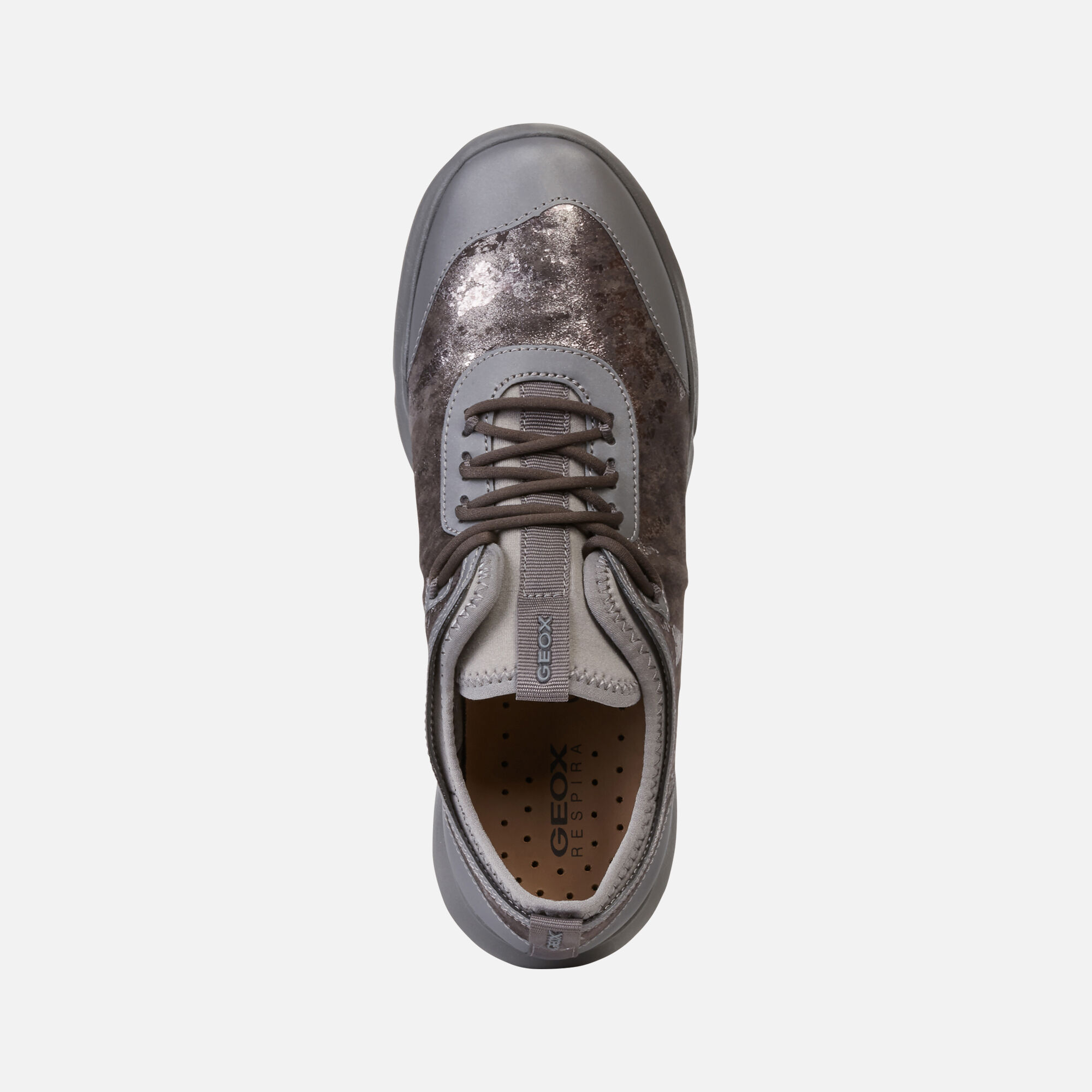 Geox NEBULA X Woman: Grey Sneakers