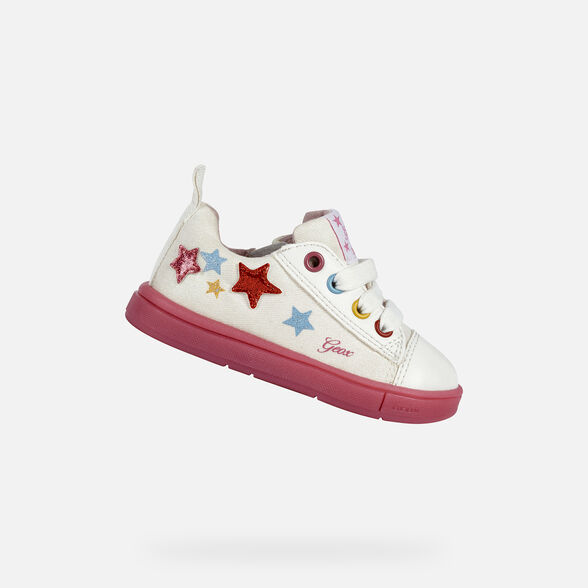 BABY SNEAKERS GEOX TROTTOLA BABY GIRL - 1