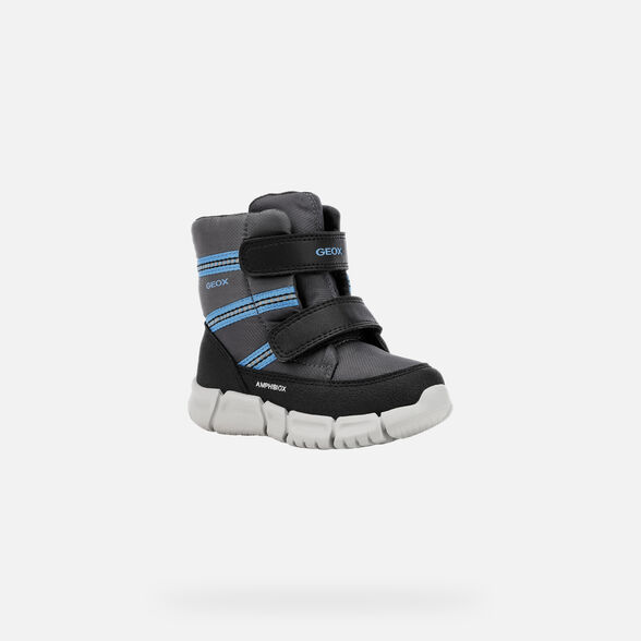 ANKLE BOOTS BABY GEOX FLEXYPER BABY BOY ABX - 4