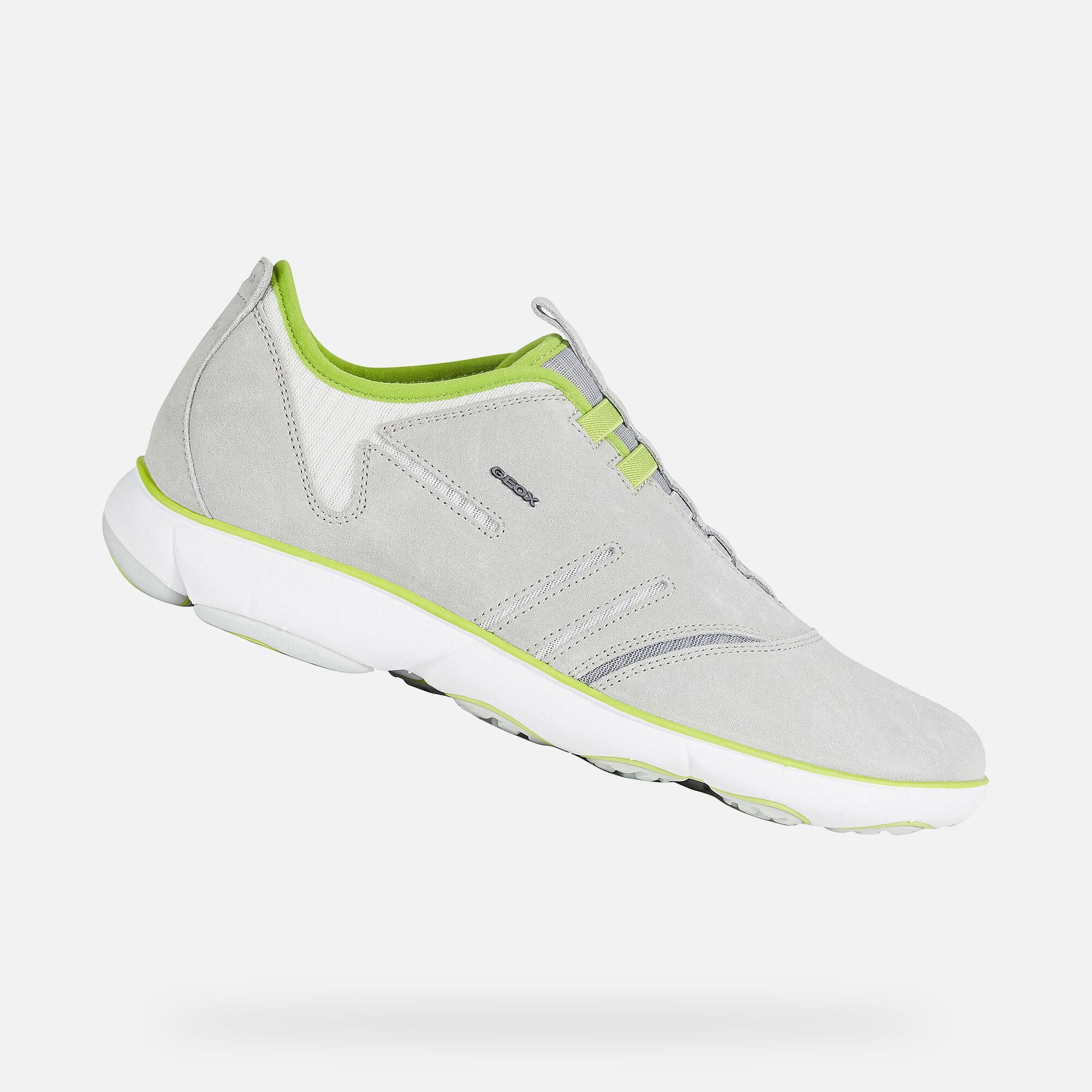 Geox NEBULA Man: Light grey Sneakers