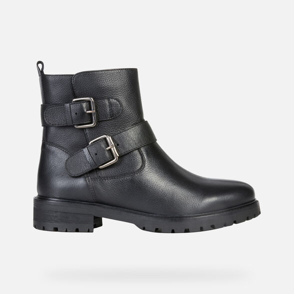 WOMAN ANKLE BOOTS GEOX HOARA WOMAN - 2