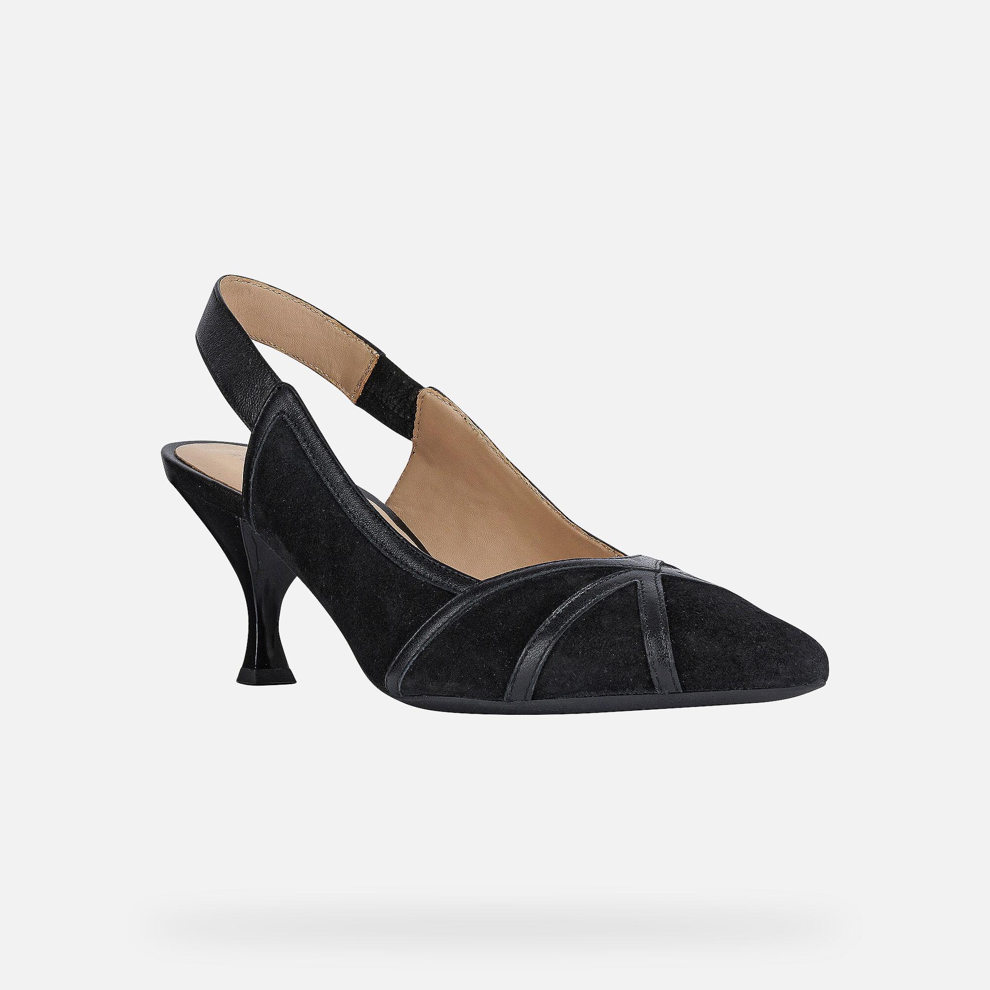 Geox ELISANGEL Woman: Black Shoes