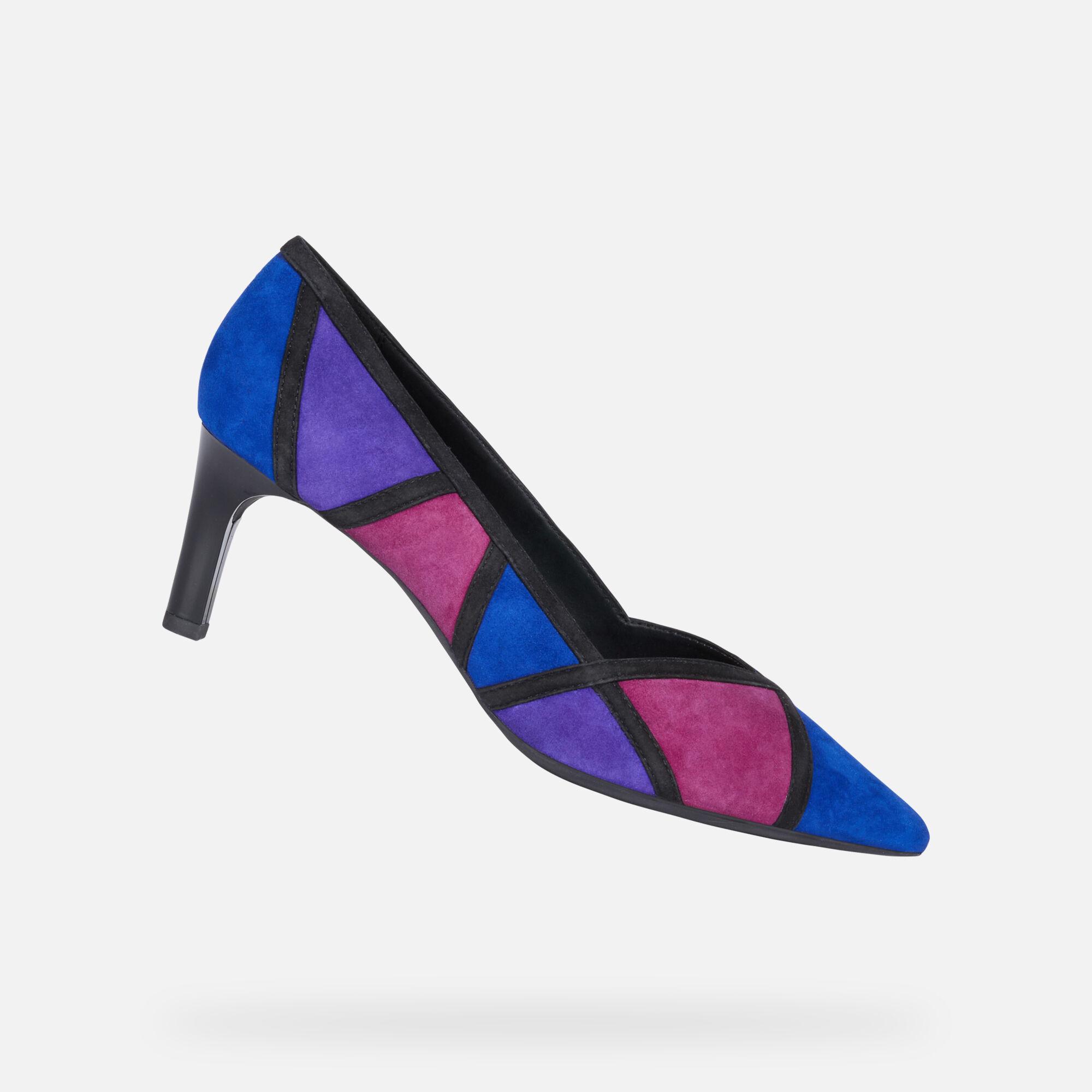 Geox BIBBIANA Femme Chaussures Bleue roi   Geox ® Store