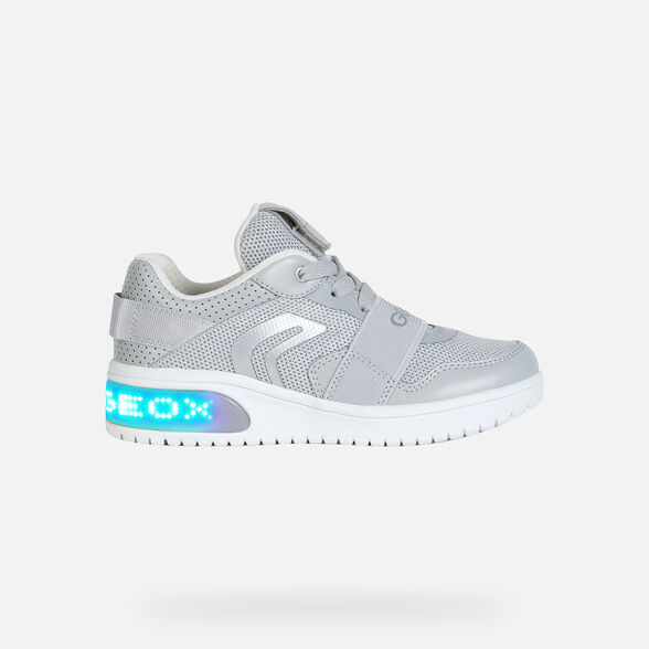 GIRL LIGHT-UP SHOES GEOX XLED GIRL - 8