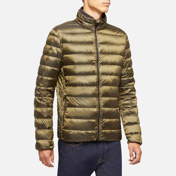 DOWN JACKETS MAN GEOX DERECK MAN - 4
