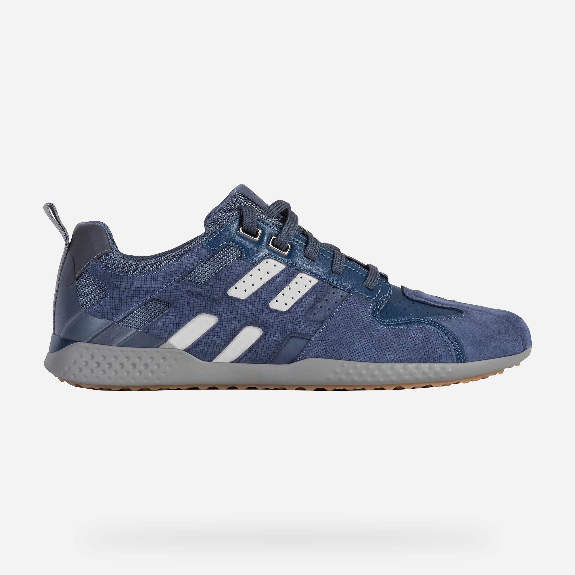 Geox SNAKE.2 Man: Blue Sneakers | Geox SS20