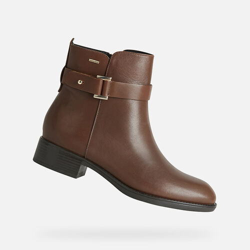 ANKLE BOOTS WOMAN GEOX FELICITY ABX WOMAN - null