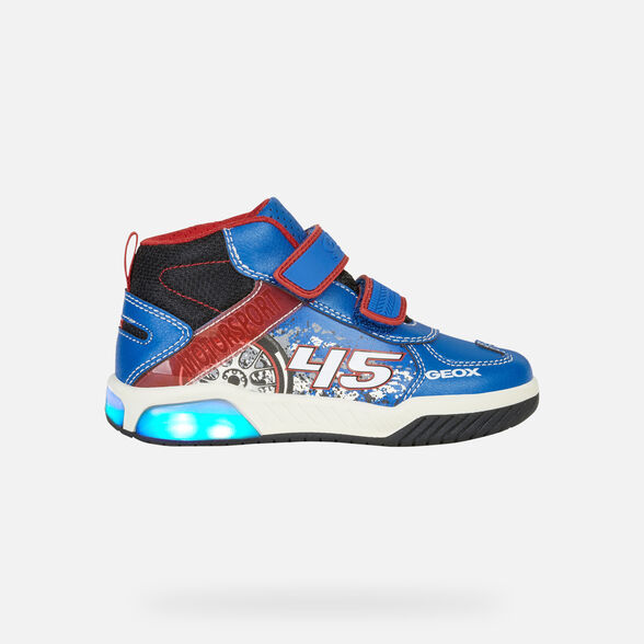 LIGHT-UP SHOES BOY GEOX INEK BOY - 8