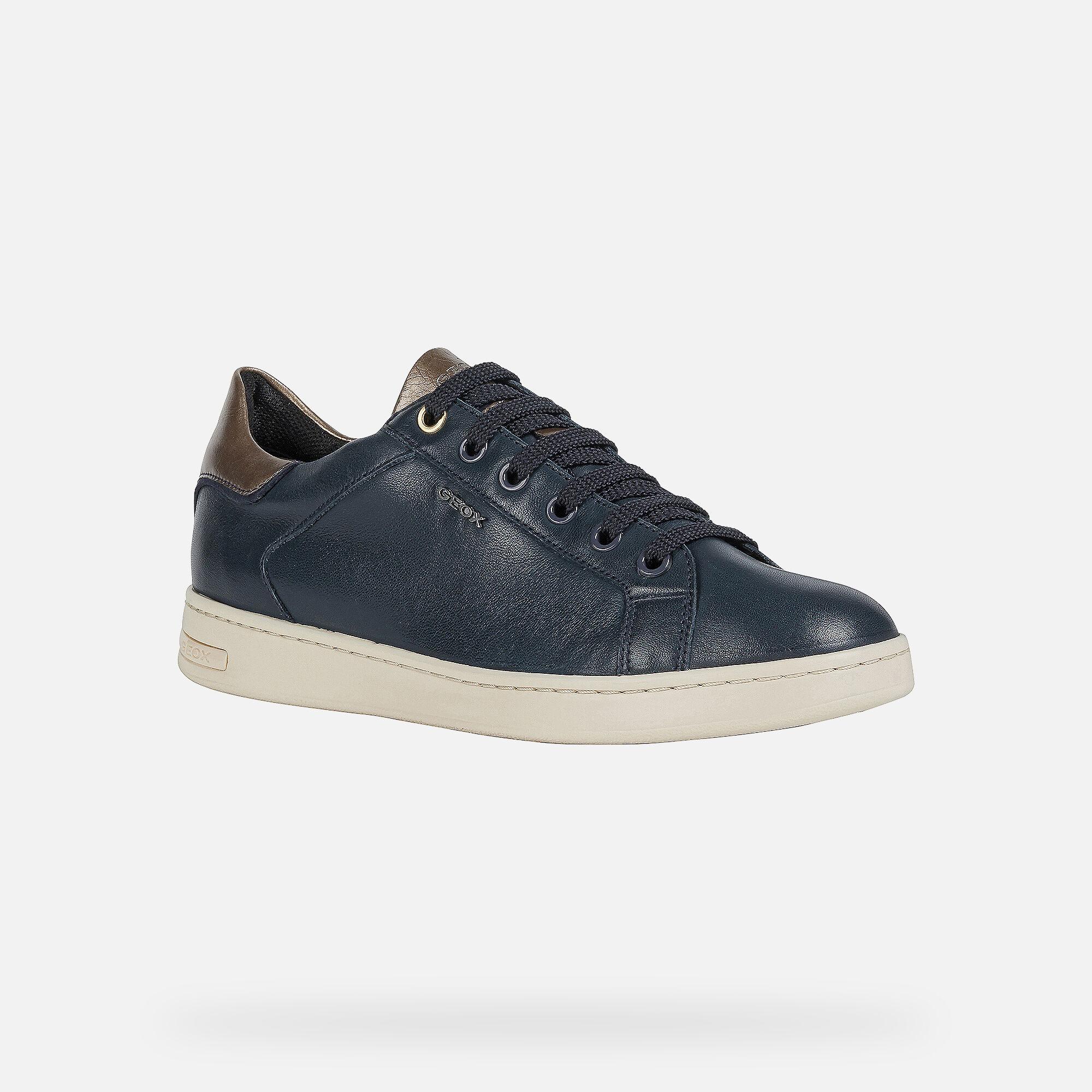 Geox JAYSEN Woman: Navy blue Sneakers
