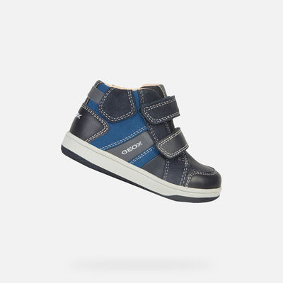 HIGH TOP BABY GEOX NEW FLICK BABY BOY