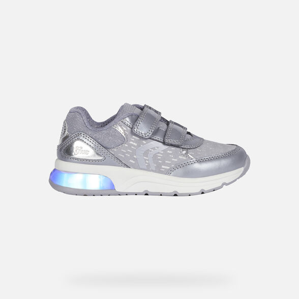 LIGHT-UP SHOES GIRL GEOX SPACECLUB GIRL - 8