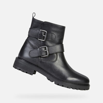 ANKLE BOOTS WOMAN GEOX HOARA WOMAN