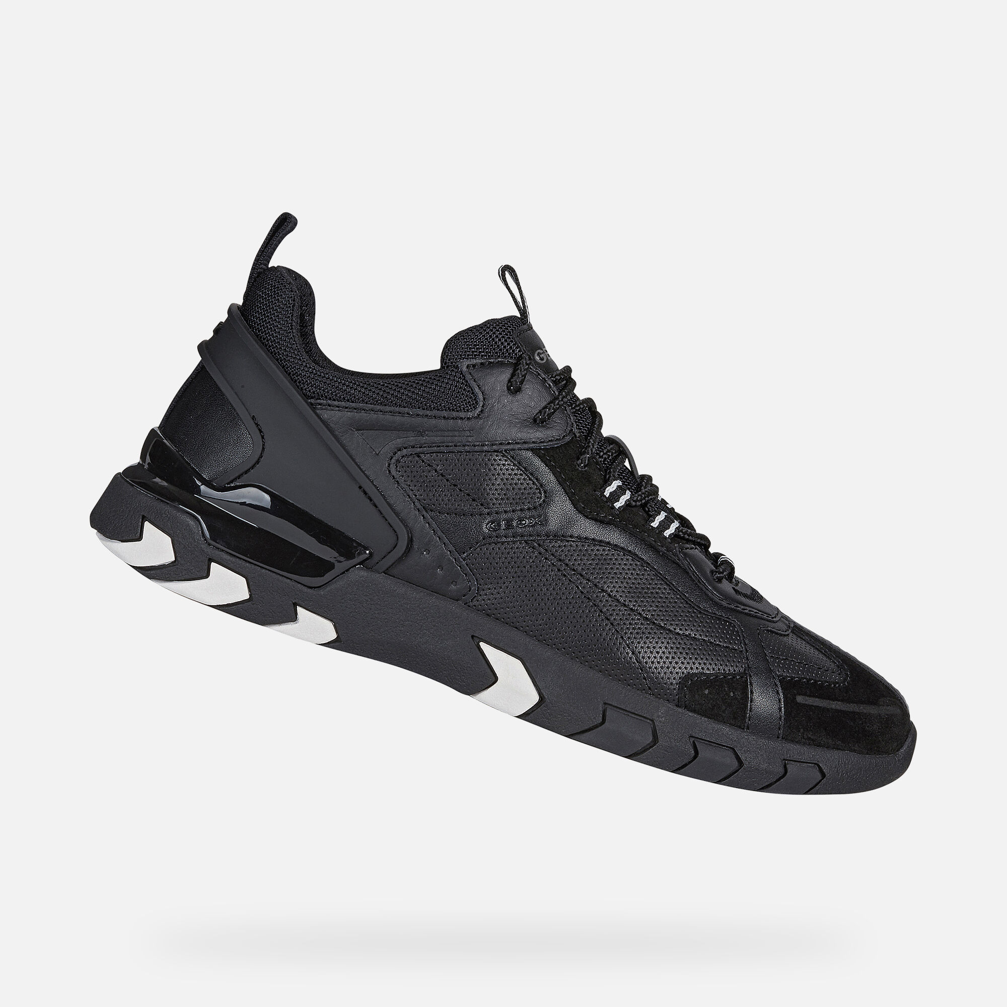 Functional Geox Women's Black Sneakers & Athletic Shoes