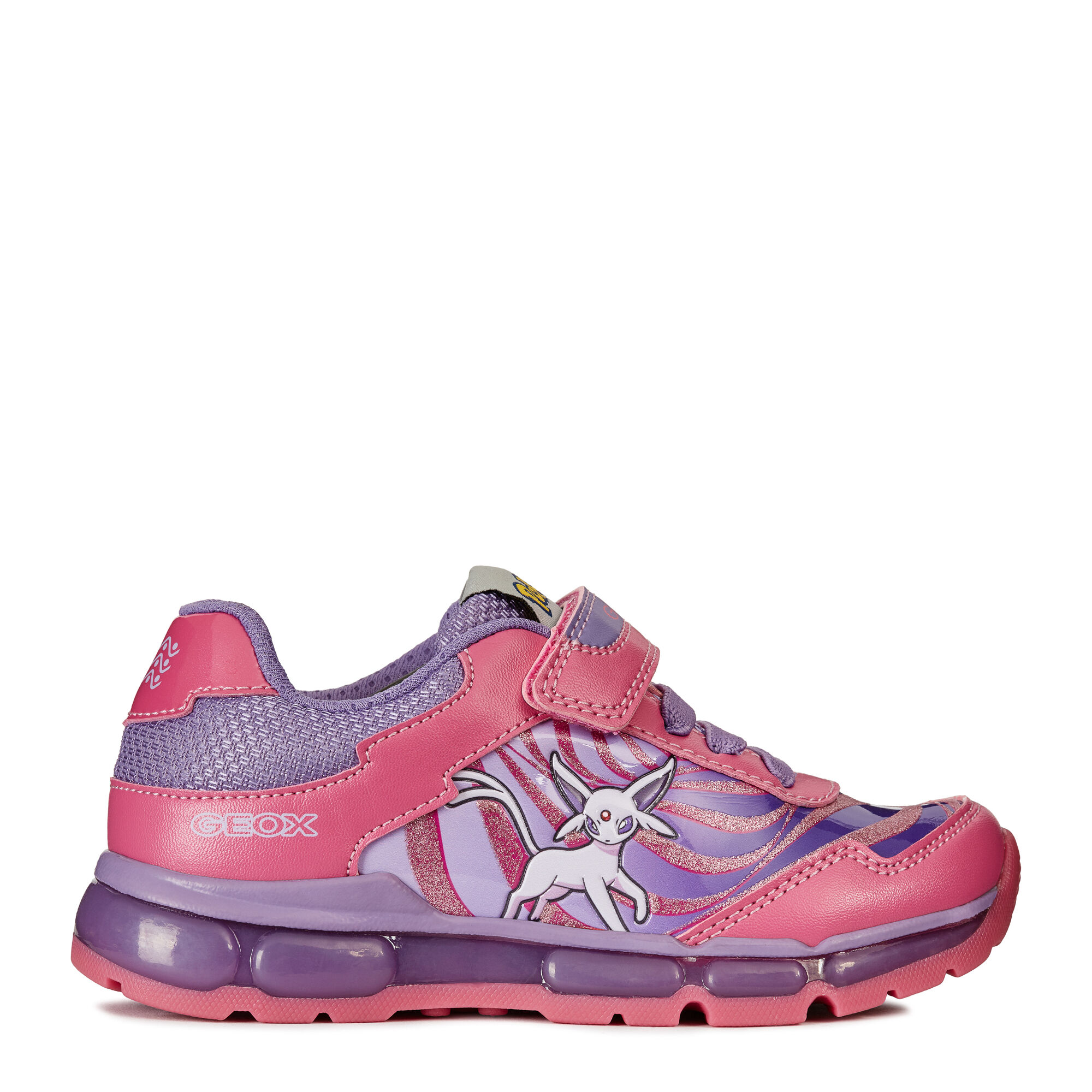 Android Zapatos Jr De Girl Oixgx8q Niña Led Geox 64wqn