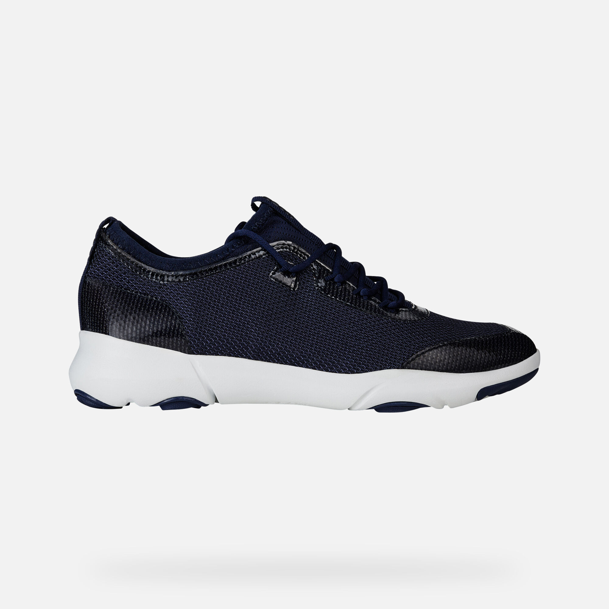 Geox D NEBULA X: Blue Navy Woman Sneakers | Geox SS19