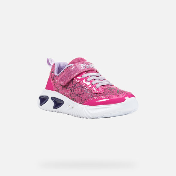 GIRL LIGHT-UP SHOES GEOX ASSISTER GIRL - 3