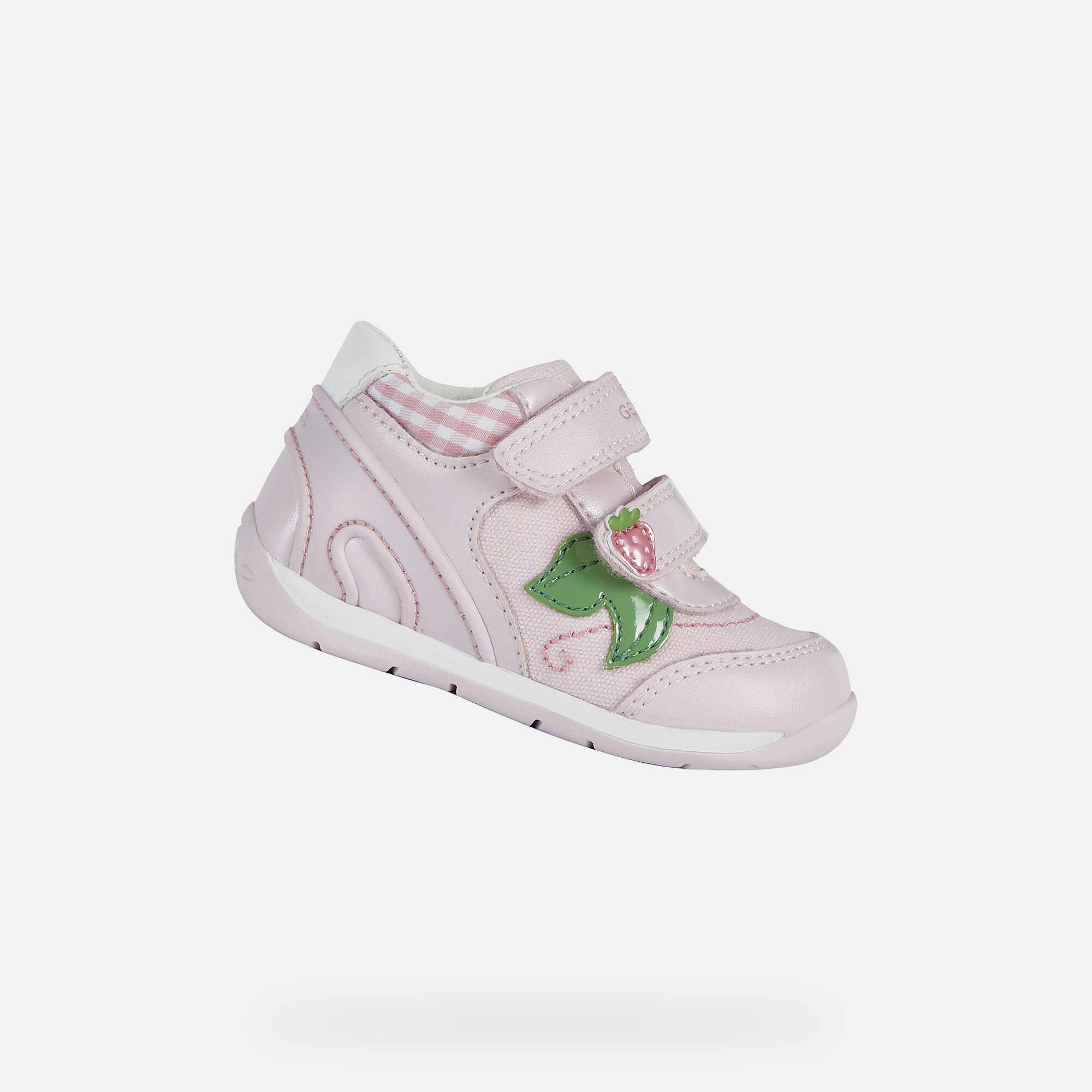 Geox EACH Baby Girl: Pink First Steps