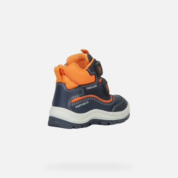ANKLE BOOTS BABY GEOX FLANFIL BABY BOY ABX - 5