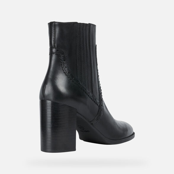 ANKLE BOOTS WOMAN GEOX JACY WOMAN - 5