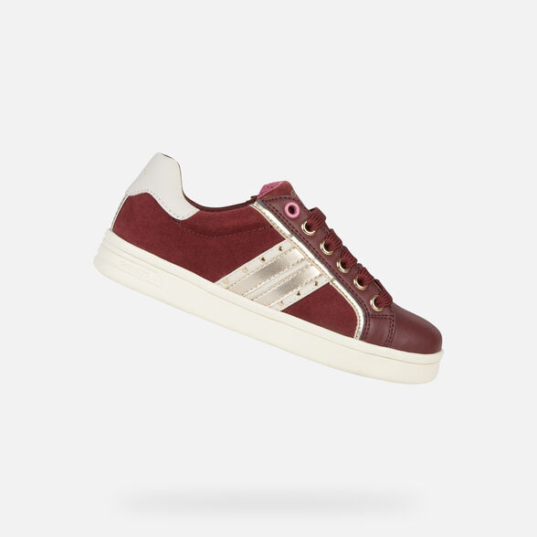 LOW TOP GIRL GEOX DJROCK GIRL - 1