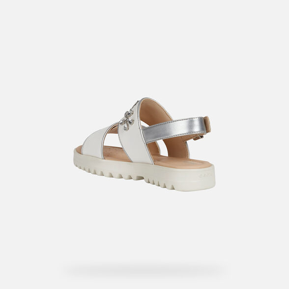 GIRL SANDALS GEOX CORALIE GIRL - 4