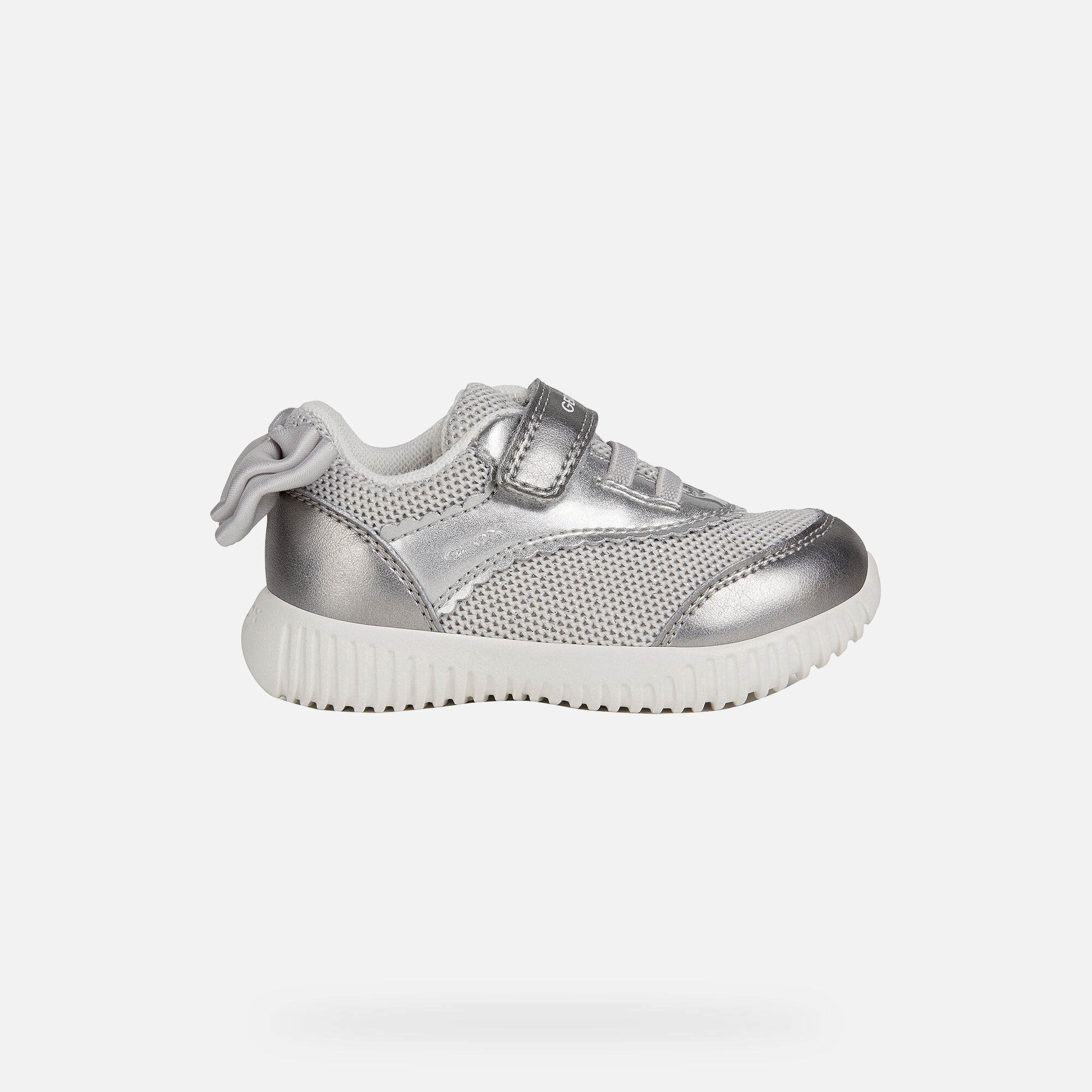 Geox WAVINESS Baby Girl: Silver