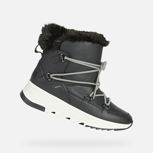 ANKLE BOOTS WOMAN GEOX FALENA ABX WOMAN - null