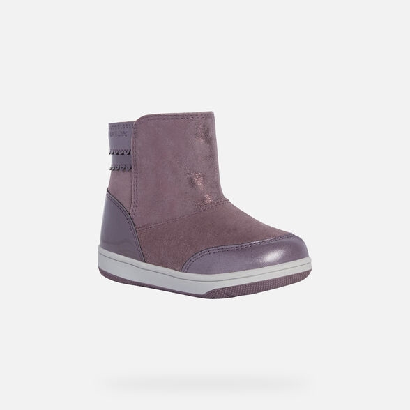 ANKLE BOOTS BABY GEOX NEW FLICK BABY GIRL - 3
