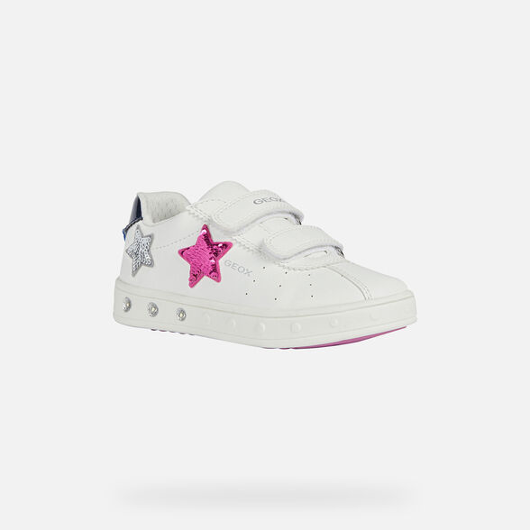 GIRL LIGHT-UP SHOES GEOX SKYLIN GIRL - 3