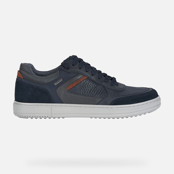 Vigilante salud Jirafa  Geox LEVICO B ABX Man: Navy blue Sneakers   Geox® Online
