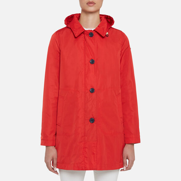 WOMAN OVERCOAT GEOX AIRELL WOMAN - 2