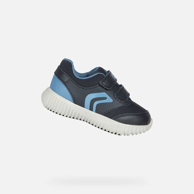 LOW TOP BABY GEOX WAVINESS BABY BOY