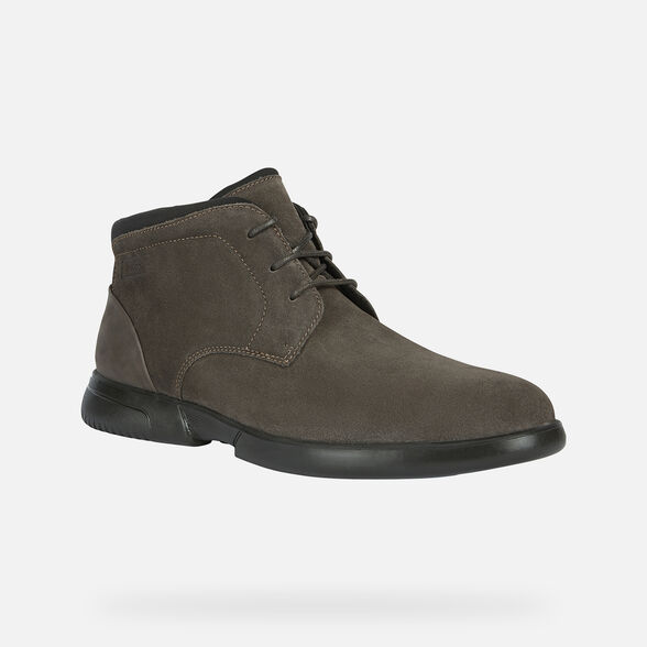 MAN CASUAL SHOES GEOX SMOOTHER MAN - 3