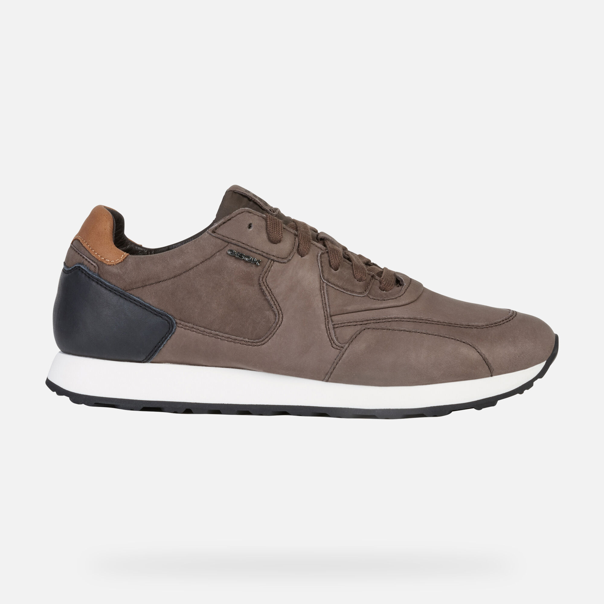GEOX VINCIT Uomo: Sneakers Basse Caff scuro | GEOX ® | Geox