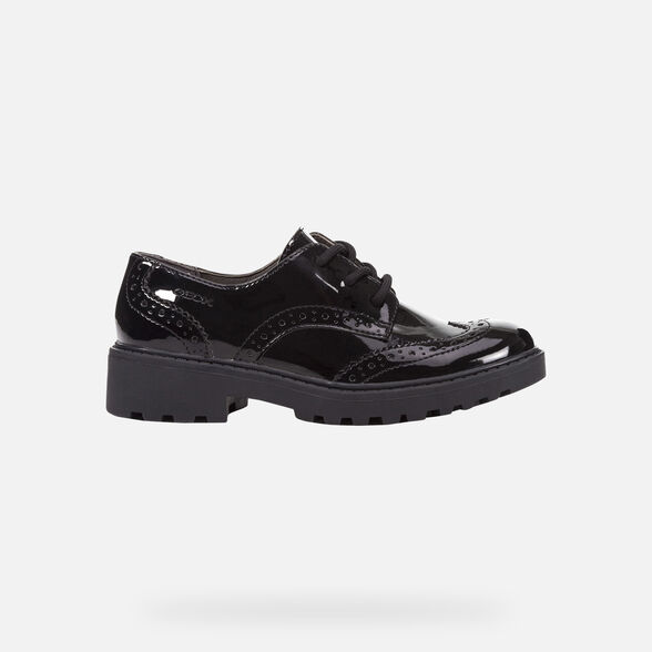 GIRL UNIFORM SHOES GEOX CASEY GIRL - 2
