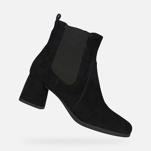 ANKLE BOOTS WOMAN GEOX CALINDA WOMAN - null