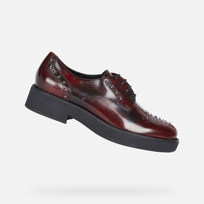 LACE UPS AND BROGUES WOMAN GEOX ADRYA WOMAN