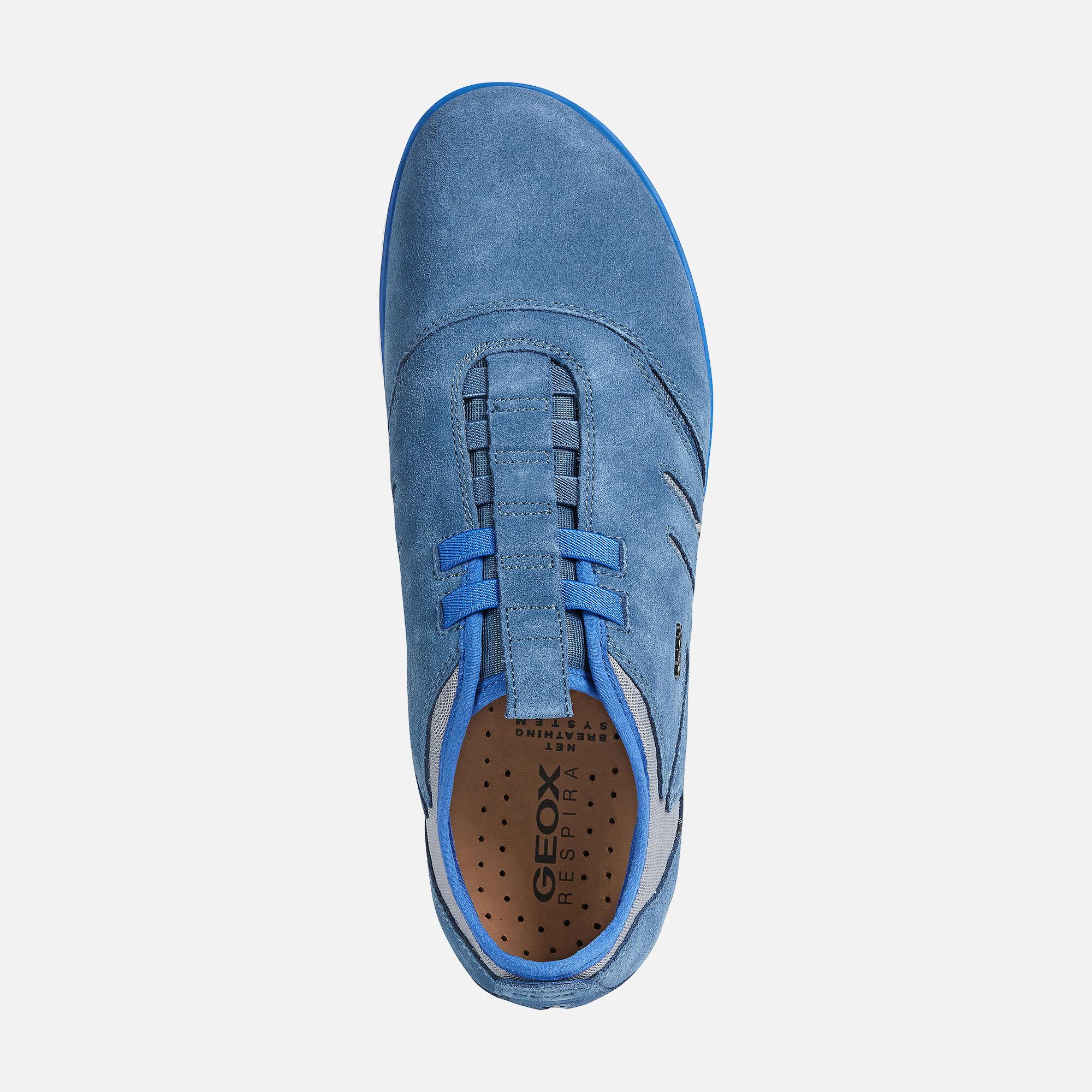 Geox NEBULA Man: Airforce blue Sneakers