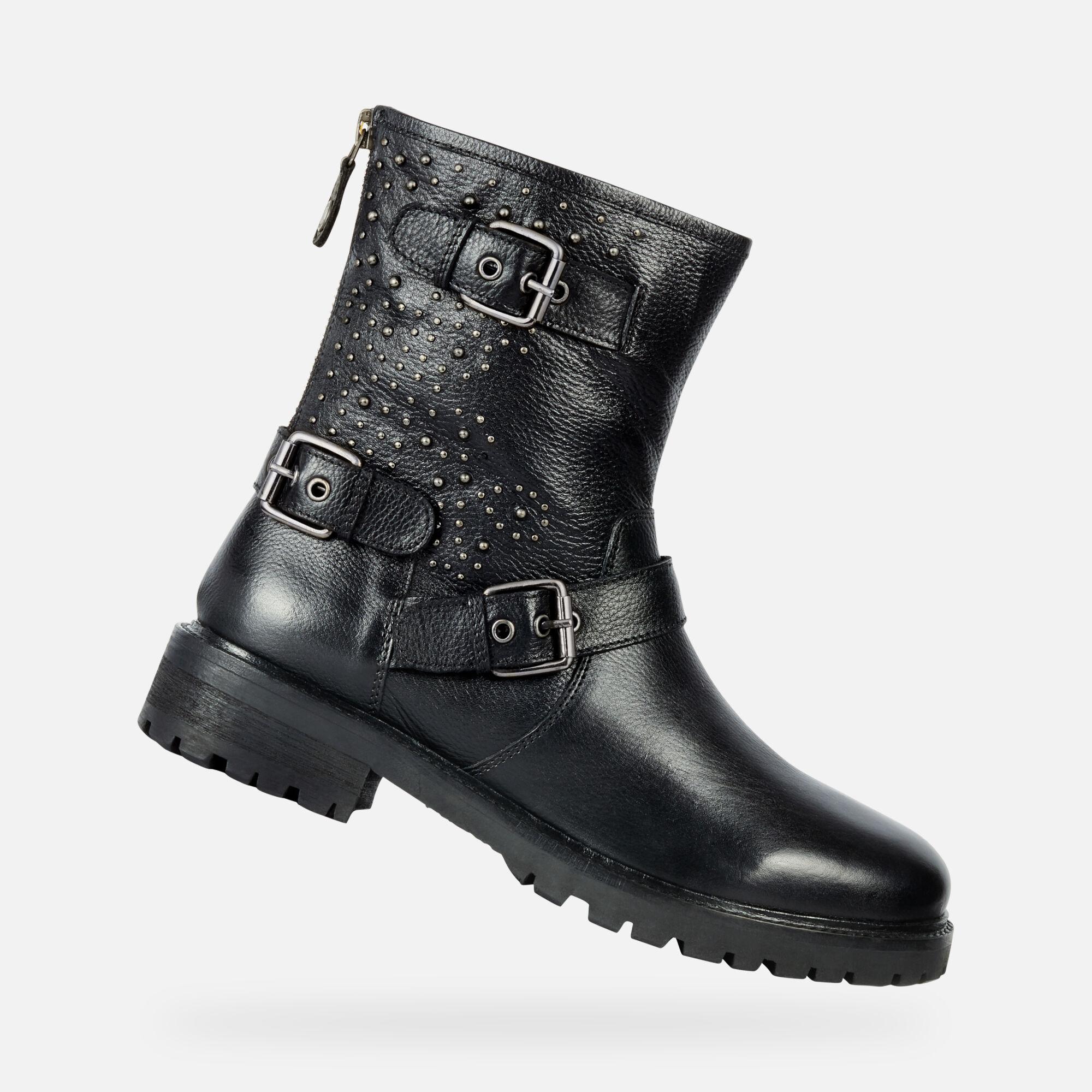 NoiresGeox en Bottines ligne Geox ® Boutique HOARA Femme m8vwNn0