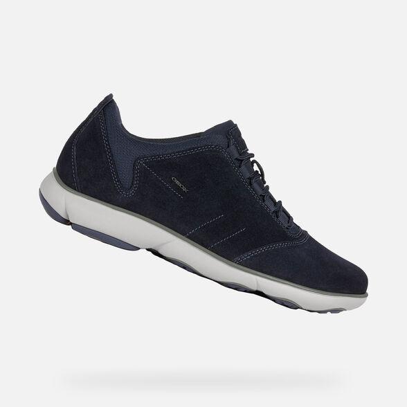 Extremadamente importante Bailarín sin embargo  Geox NEBULA Man: Navy blue Sneakers | Nebula Geox® FW20