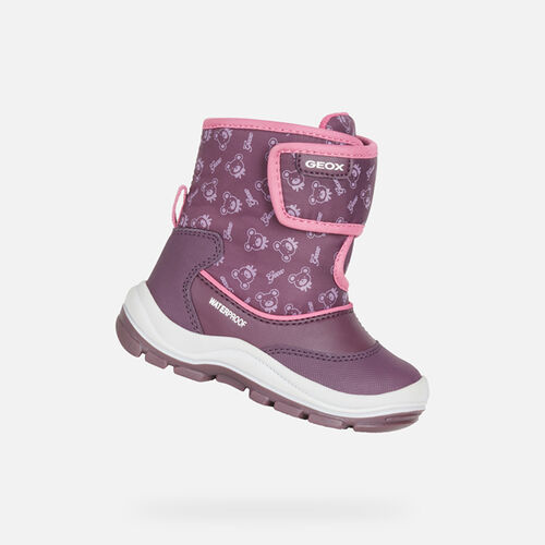 Babies ankle boots Special Focus GEOX FLANFIL WPF BABY GIRL - null