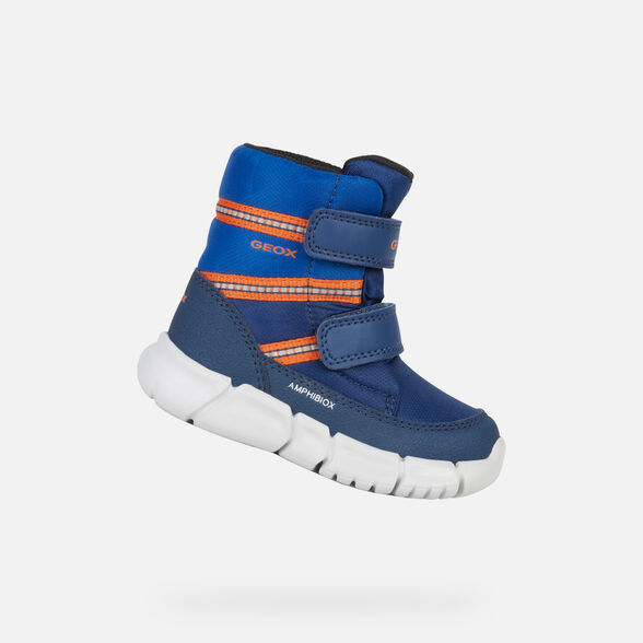 ANKLE BOOTS BABY GEOX FLEXYPER BABY BOY ABX - 1